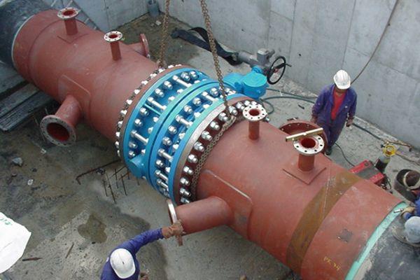 DN1300 PN40 Butterfly valve