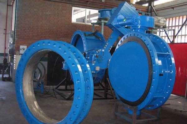 DN1400 PN40 Butterfly valve